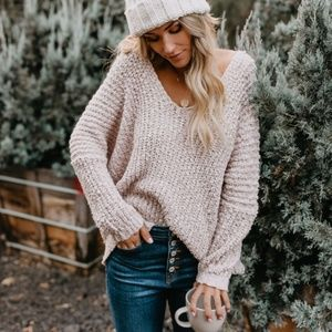 FIONA Loose Knit Pullover